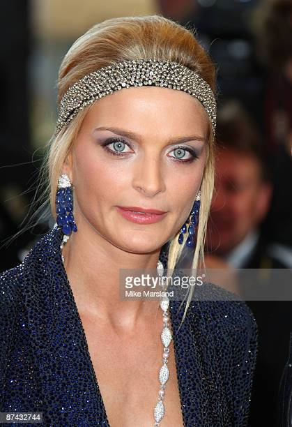 Model Sarah Marshall attends the A Prophet Premiere at the Grand Theatre Lumiere during the 62nd Annual Cannes Film Festival on May 16 2009 in Cannes...