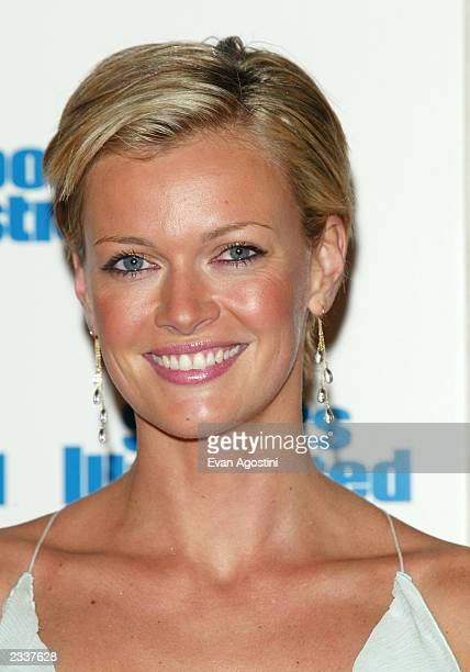 Model Sarah O'Hare attends the 2003 Sports Illustrated Swimsuit Issue press conference held at Gotham Hall on February 18 2003 in New York City
