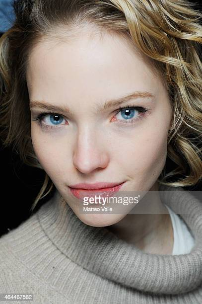 94fd28773c A model Sasha Luss is seen backstage ahead of the Max Mara show during the  Milan