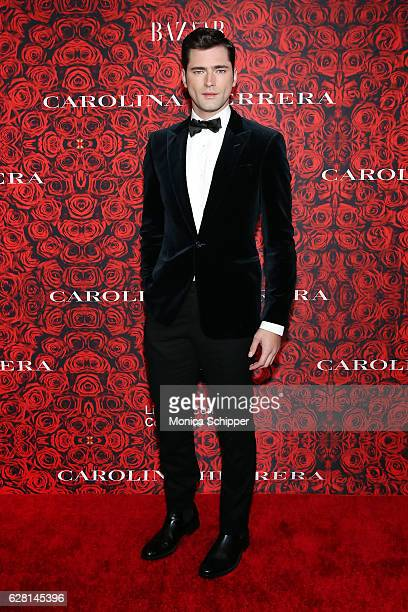 Model Sean O'Pry attends An Evening Honoring Carolina Herrera at Alice Tully Hall at Lincoln Center on December 6 2016 in New York City