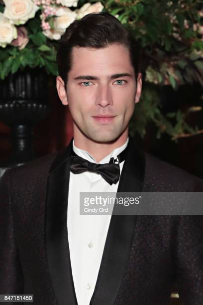 Model Sean O'Pry attends the 2017 New Yorkers for Children Fall Gala at Cipriani 42nd Street on September 14 2017 in New York City