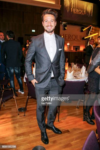 Model Sebastian Pannek attends the German Boxing Awards 2017 on October 8 2017 in Hamburg Germany