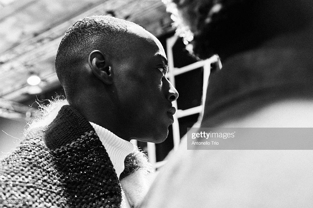 'Generation Africa' Fashion Show - Backstage - 89. Pitti Uomo : News Photo