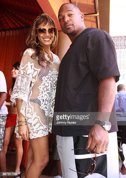Model Selita Ebanks and NFL player Dwight Freeny are seen on May 1 2010 on the streets of Las Vegas Nevada