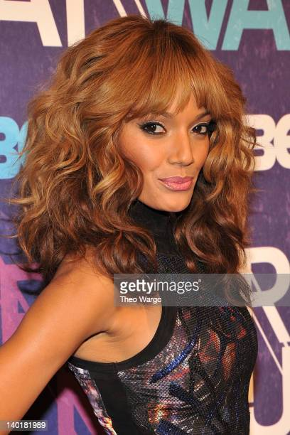 Model Selita Ebanks attends BET's Rip the Runway 2012 at Hammerstein Ballroom on February 29, 2012 in New York City.