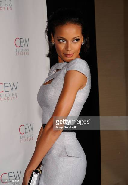 Model Selita Ebanks attends the 2010 Cosmetic Executive Women Beauty Awards at The Waldorf=Astoria on May 21 2010 in New York City