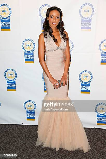 Model Selita Ebanks attends the 22nd Annual NAACP Theatre Awards at Directors Guild Of America on November 5 2012 in Los Angeles California