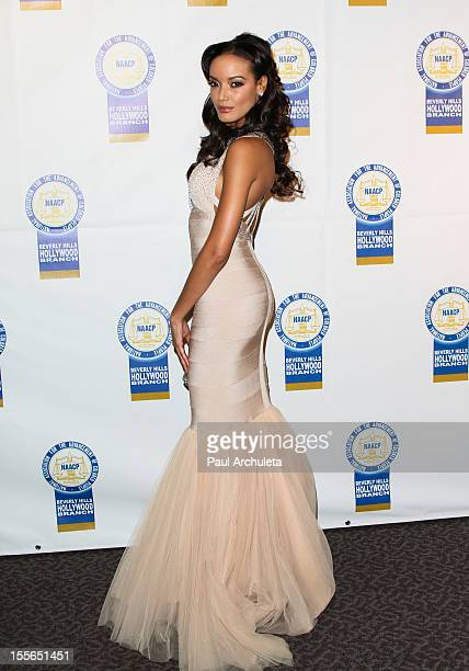 Model Selita Ebanks attends the 22nd annual NAACP Theatre Awards at the Directors Guild Of America on November 5 2012 in Los Angeles California