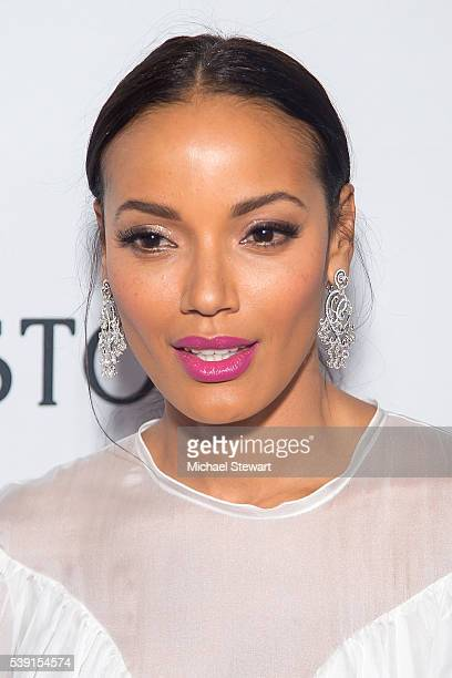 Model Selita Ebanks attends the 7th Annual amfAR Inspiration Gala New York at Skylight at Moynihan Station on June 9 2016 in New York City