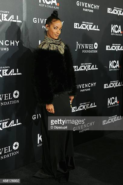 Model Selita Ebanks attends the 9th annual Keep A Child Alive Black Ball at Hammerstein Ballroom on October 30 2014 in New York City