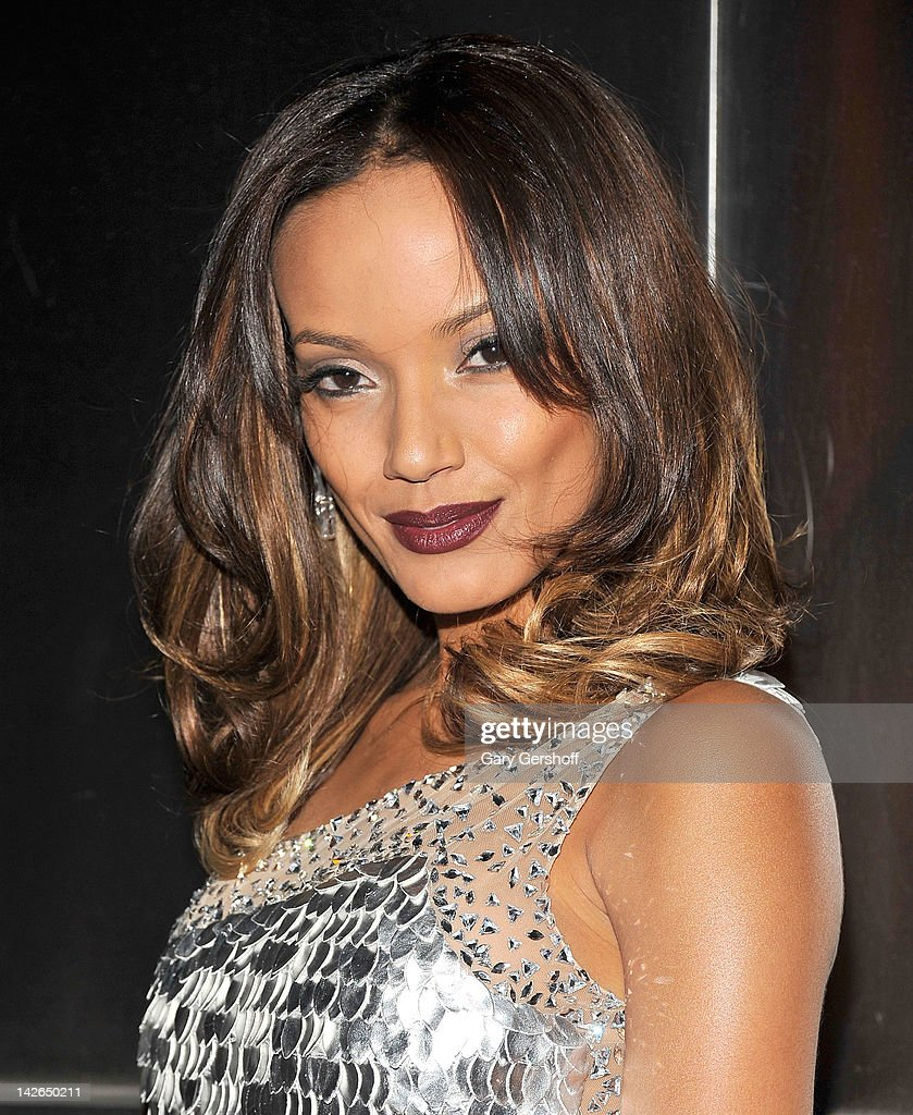 Model Selita Ebanks attends the 9th annual Spring Dinner Dance New Year's In April: A Fool's Fete at the Mandarin Oriental Hotel on April 10, 2012 in New York City.