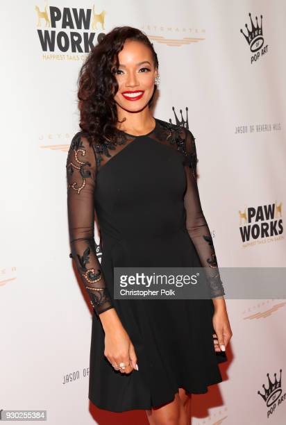 Model Selita Ebanks attends the James Paw 007 Ties Tails Gala at the Four Seasons Westlake Village on March 10 2018 in Westlake Village California