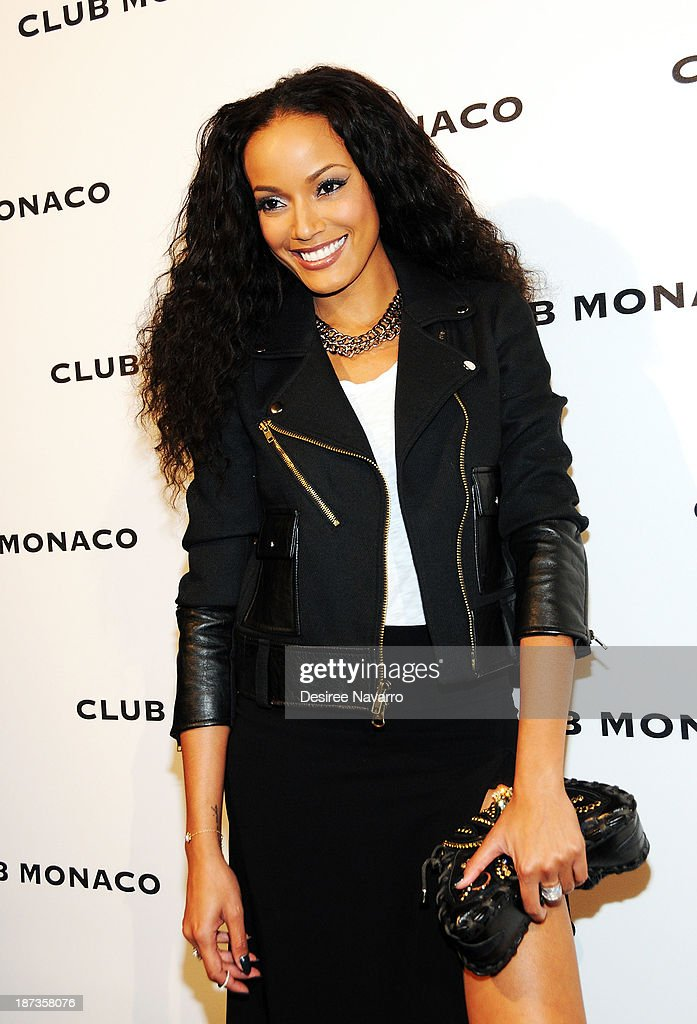 Model Selita Ebanks attends the opening celebration of Club Monoco's Fifth Avenue Flagship at Club Monaco Fifth Avenue on November 7, 2013 in New York City.