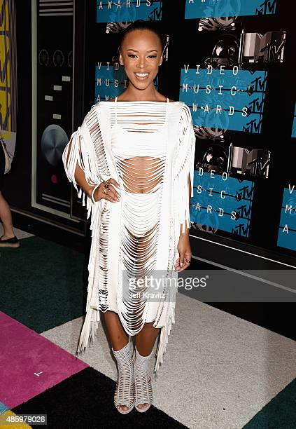 Model Serayah attends the 2015 MTV Video Music Awards at Microsoft Theater on August 30 2015 in Los Angeles California