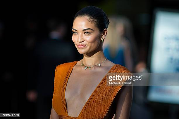 Model Shanina Shaik attends the 2016 CFDA Fashion Awards at the Hammerstein Ballroom on June 6 2016 in New York City