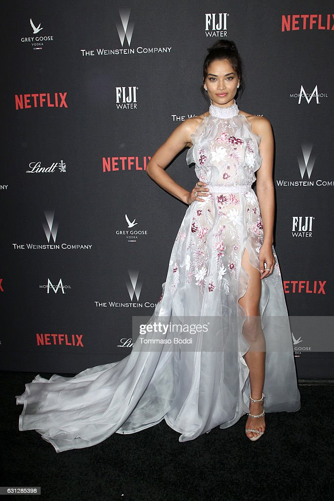 The Weinstein Company and Netflix Golden Globe Party, presented with FIJI Water, Grey Goose Vodka, Lindt Chocolate, and Moroccanoil - Red Carpet