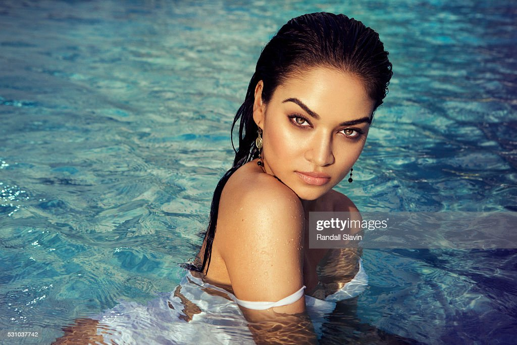 Model Shanina Shaik is photographed for Ocean Drive Magazine on December 21, 2015 in Hollywood, Florida.