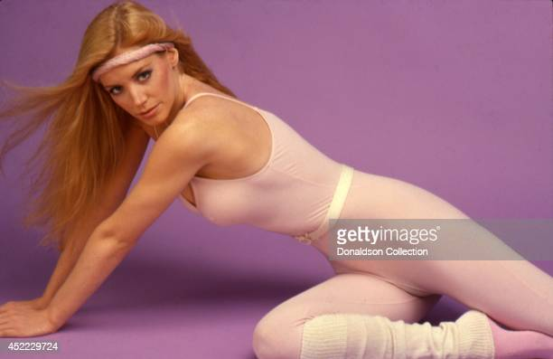 Model Shannon Tweed poses for a portrait in circa 1985 in Los Angeles California