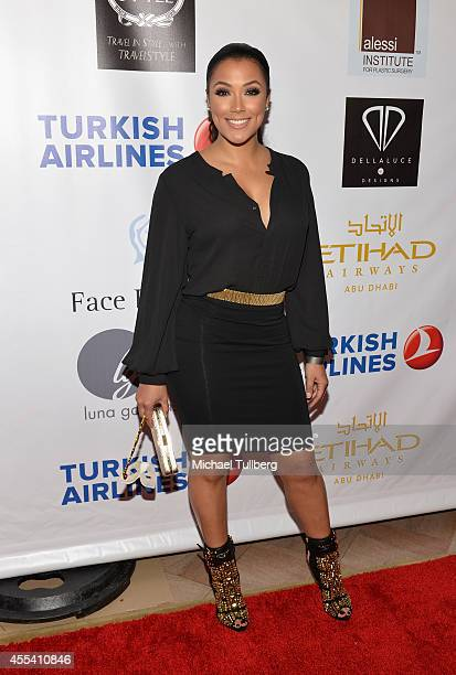Model Shantel Jackson attends the Face Forward Foundation's 5th Annual Charity Gala Supporting Victims of Domestic Abuse at Millennium Biltmore Hotel...