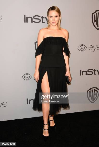 Model Shantel VanSanten attends the 19th Annual PostGolden Globes Party hosted by Warner Bros Pictures and InStyle at The Beverly Hilton Hotel on...