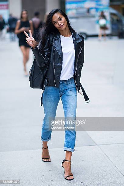 Model Sharina Gutierrez attends the 2016 Victoria's Secret Fashion Show casting on October 20 2016 in New York City