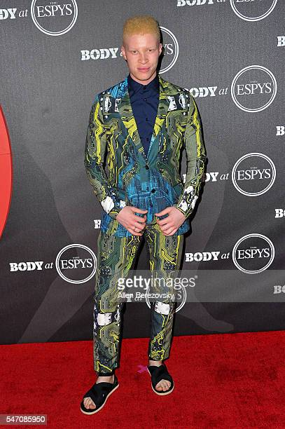Model Shaun Ross attends BODY At The ESPYs PreParty at Avalon Hollywood on July 12 2016 in Los Angeles California