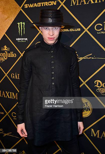 870d519c Model Shaun Ross attends the 2016 MAXIM Hot 100 Party at the Hollywood  Palladium on July