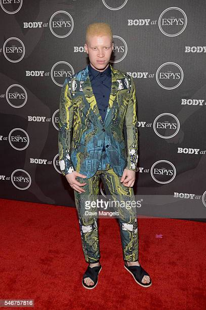 Model Shaun Ross attends the BODY At The ESPYs pre-party at Avalon Hollywood on July 12, 2016 in Los Angeles, California.