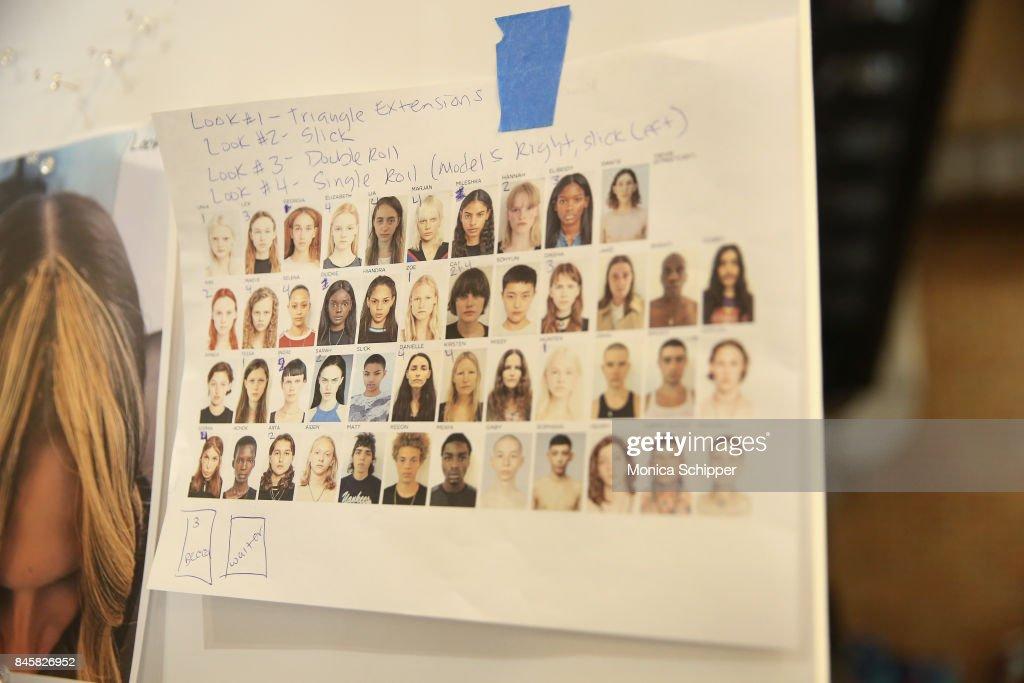 TRESemme Helmut Lang Seen By Shayne Oliver - Backstage - September 2017 - New York Fashion Week : ニュース写真