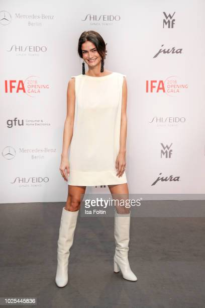 Model Shermine Shahrivar attends the IFA 2018 opening gala on August 31, 2018 in Berlin, Germany.