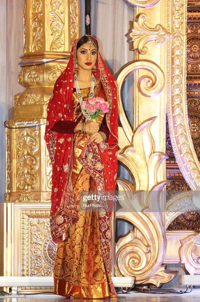 Amrapali 2018 Indian fashion exhibition : News Photo