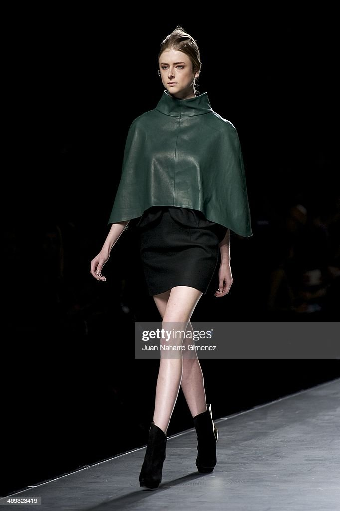 Mercedes Benz Fashion Week Madrid W/F 2014 - AA de Amaya Arzuaga : News Photo
