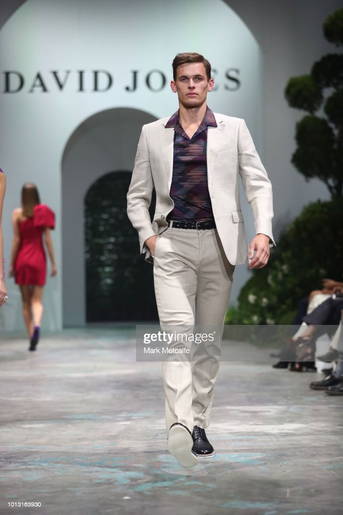 David Jones Spring Summer 18 Collections Launch - Runway Show : Photo d'actualité