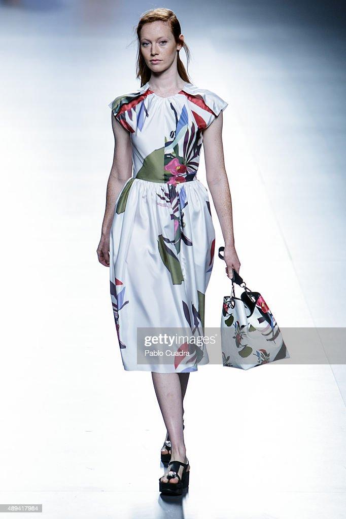 Juan Vidal - Runway - Mercedes-Benz Fashion Week Madrid Spring/Summer 2016 : News Photo