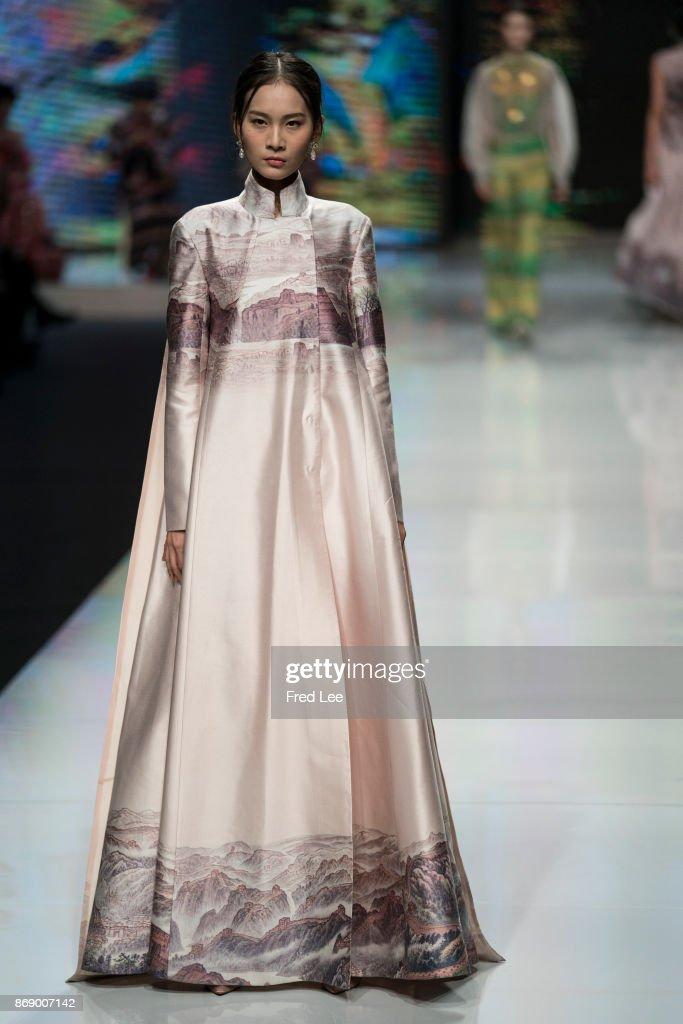 Mercedes-Benz China Fashion Week S/S 2018 Collection - Day 4 : Foto jornalística