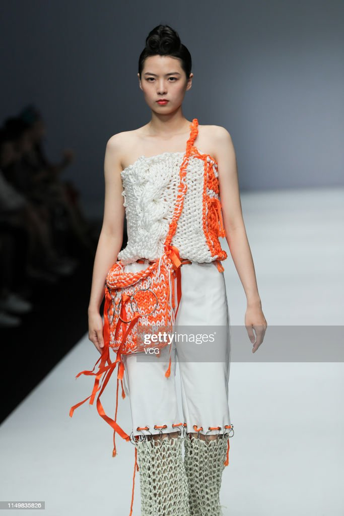 A Model Showcases Designs On The Runway At The Sino French Institute News Photo Getty Images