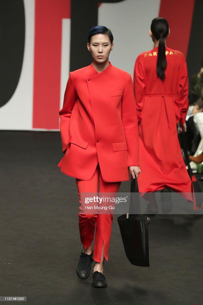 KOR: PARTs-PARTs - Runway - Seoul Fashion Week 2019 F/W