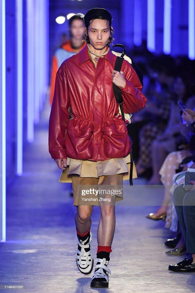 Prada Spring / Summer 2020 Menswear Fashion Show, Shanghai : ニュース写真