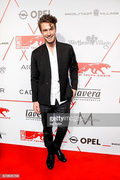 Model Simon Lohmeyer attends the New Faces Award Style on November 16 2016 in Berlin Germany