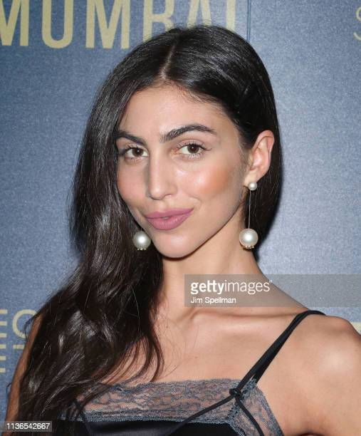 Model Simone Aptekman attends the Hotel Mumbai New York screening at Museum of Modern Art on March 17 2019 in New York City