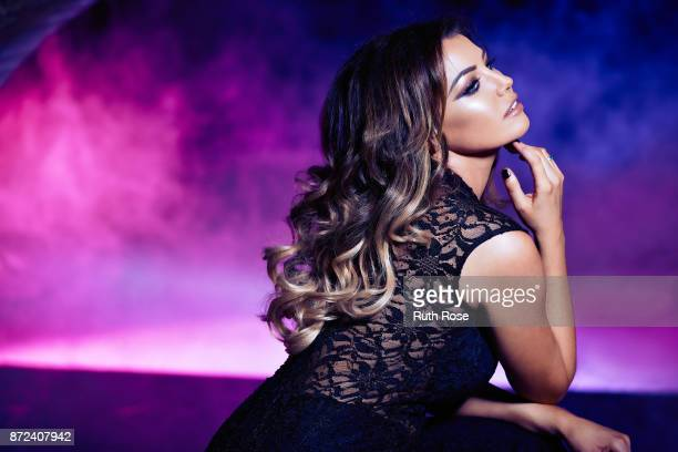 Model singer entrepreneur and a television personality Jessica Wright is photographed on October 2 2014 in London England
