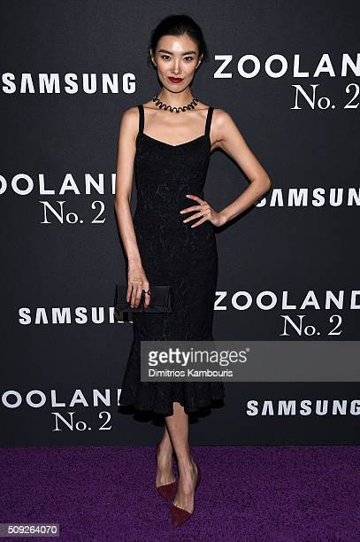 "Model Sissi Hou attends the ""Zoolander 2"" World Premiere at Alice Tully Hall on February 9, 2016 in New York City."