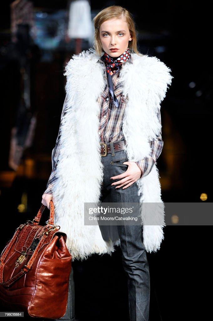 47eefe0f771d Model Snejana Onopka walks the runway at the Dolce   Gabbana... News ...