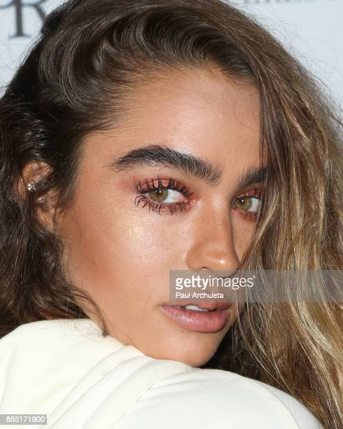 Model / Social Media Personality Sommer Ray attends the launch of FENTY PUMA By Rihanna A/W 2017 Collection at Madison Beverly Hills on September 27...