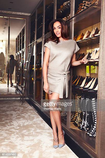 Model socialite television personality Tamara Ecclestone is photographed for Cosmopolitan magazine on April 28 2015 in London England