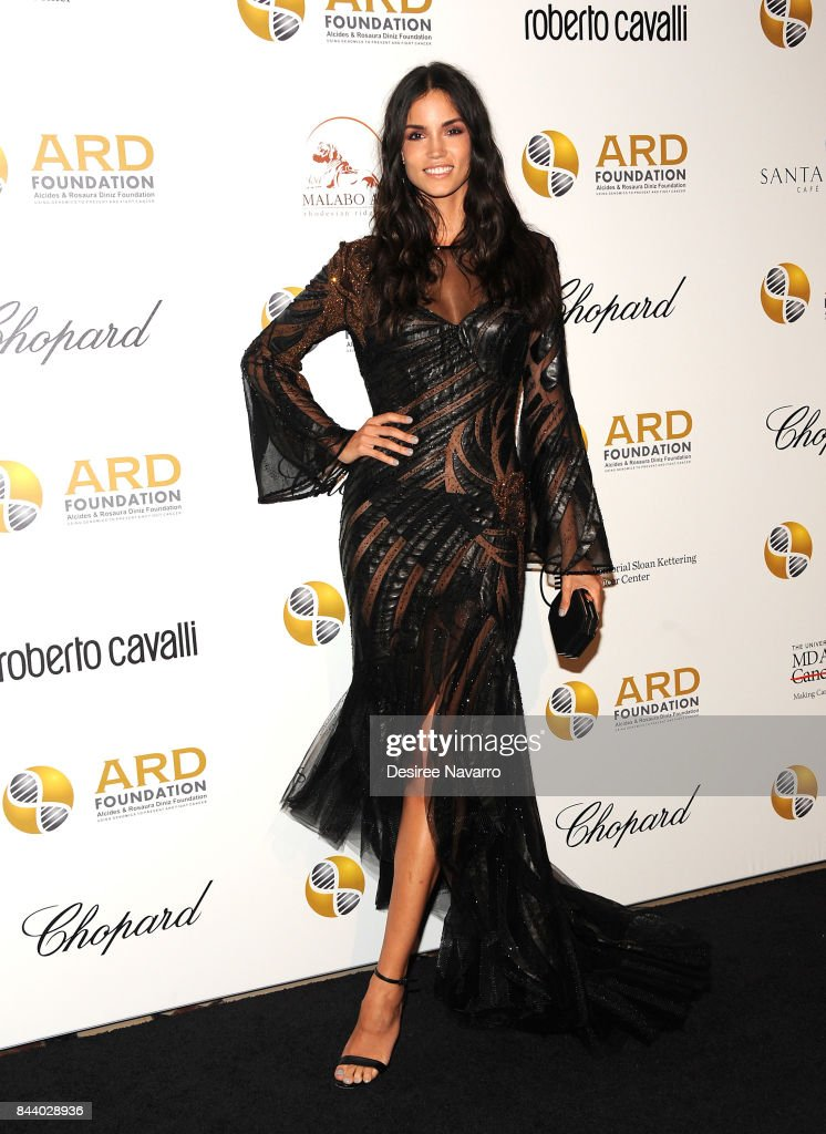 Model Sofia Resing attends 2017 ARD Foundation 'A Brazilian Night' at Cipriani 42nd Street on September 7, 2017 in New York City.