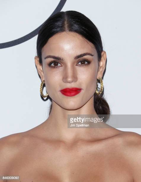 Model Sofia Resing attends the 2017 Unitas Gala at Capitale on September 12 2017 in New York City