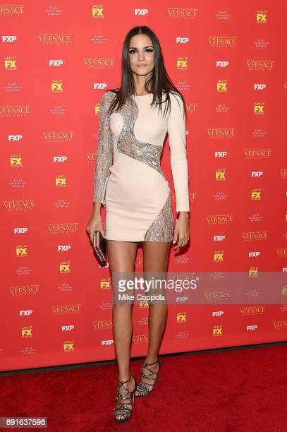 Model Sofia Resing attends 'The Assassination Of Gianni Versace American Crime Story' New York Screening at Metrograph on December 11 2017 in New...