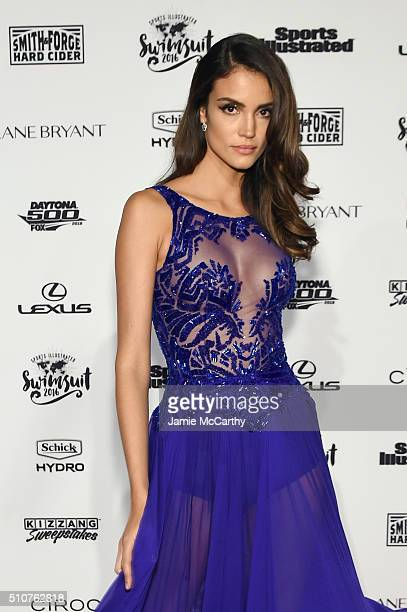 Model Sofia Resing attends the Sports Illustrated Swimsuit 2016 NYC VIP press event on February 16 2016 in New York City