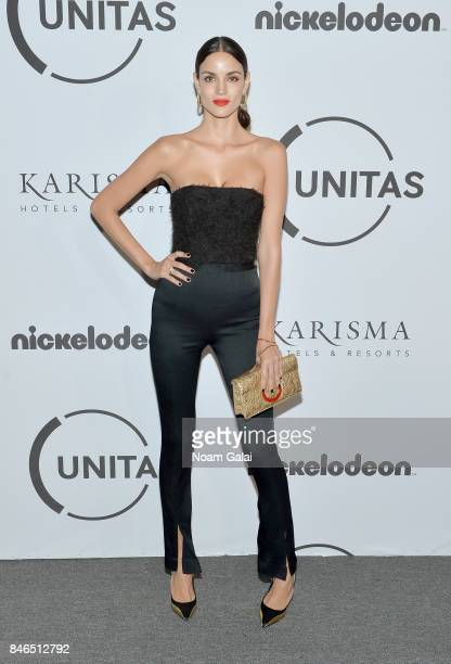 Model Sofia Resing attends Unitas Third Annual Gala Against Human Trafficking at Capitale on September 12 2017 in New York City